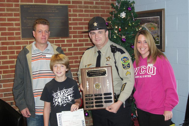 New Kent County Virginia Sheriff Howard Citizenship Award
