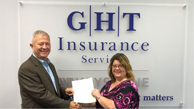 GHT Insurance Services Donates to the Kephart Foundation