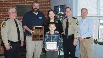 New Kent County Schools Citizenship Award Winners