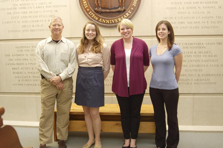 2012 Bobby Chandler Interns at the Virginia Museum of History & Culture