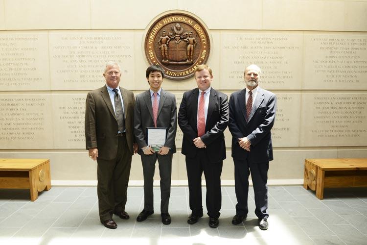 2013 Bobby Chandler Student Award Winner Daniel Yoo