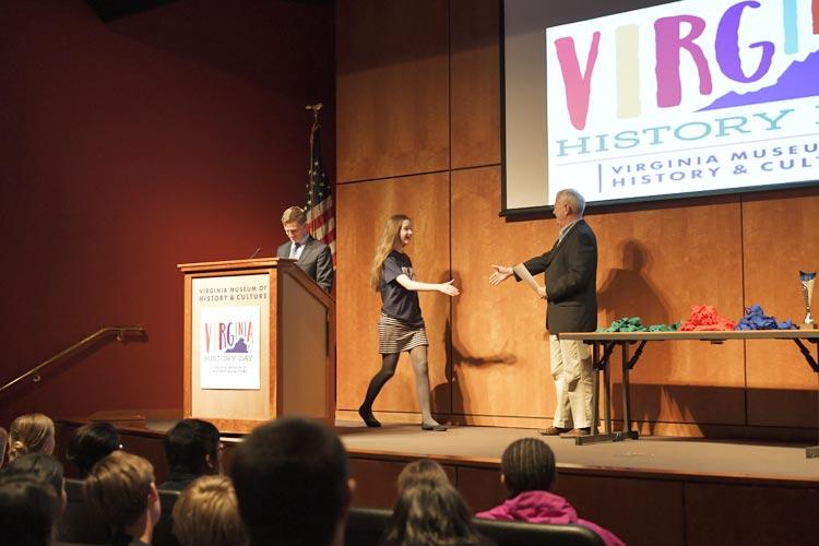 2017 Bobby Chandler Student Award Winner Mia Lazar
