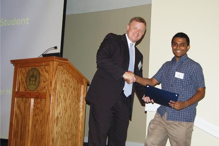 2013 Bobby Chandler Student Award Winner Venu Katta